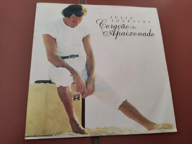 Disco Vinil Julio Iglesias- Coração Apaixonado