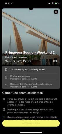 NOS Primavera Sound 2022 Barcelona