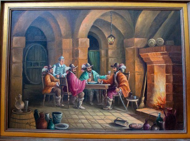 Obraz olejny Leny Rybicy 86,5x61