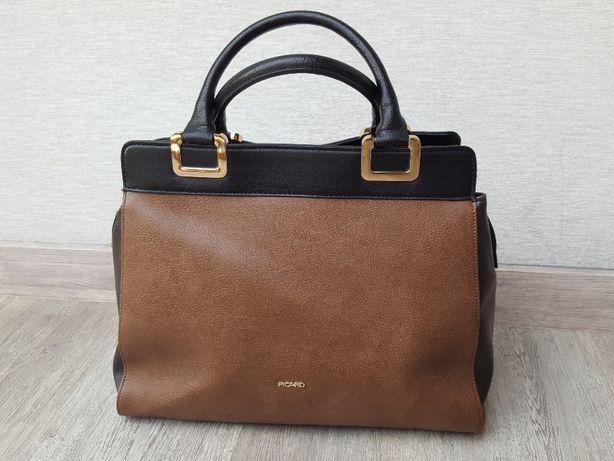 torebka skórzana skóra picard bdb damska torba elegancka klasyczna