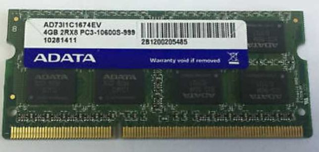 2x4  8GB DDR3 portátil