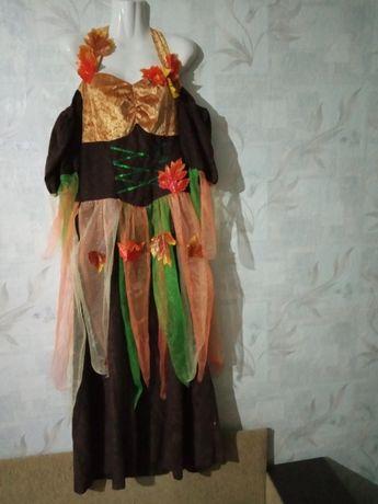 Платье костюм осени мавки лесной красавицы