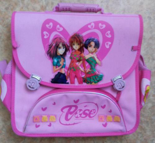 Стильный рюкзак-портфель-ранец Rose / «как новый» не пользовались