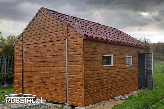 Garaż Premium Drewnopodobny HIT ROKU! Panele Poziome! Krótkie Terminy