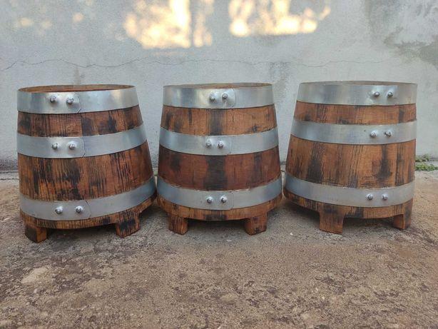 Barril em formato de Cuba em Carvalho francês de 5 litros