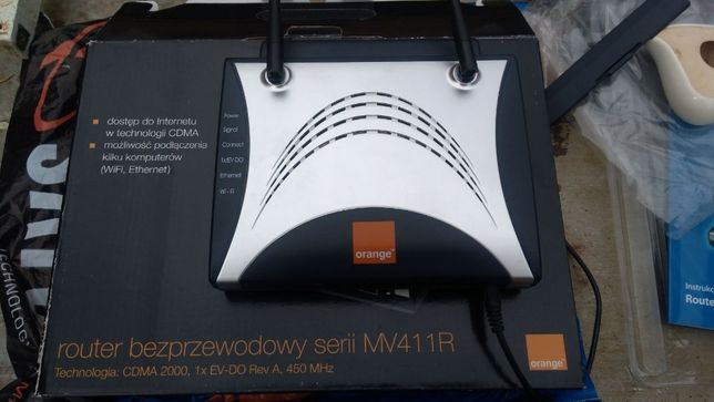 router bezprzewodowy MV411R Orange