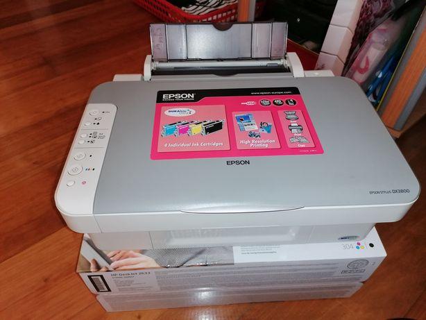 Vendo impressora Epson dx 3800 usada