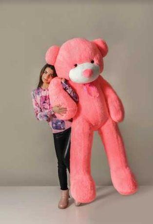 Без предоплаты! Большая мягкая игрушка 200 см, розовый плюшевый мишка