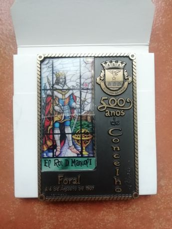Medalha Comemorativa - 500 Anos de Concelho Ribeira Grande