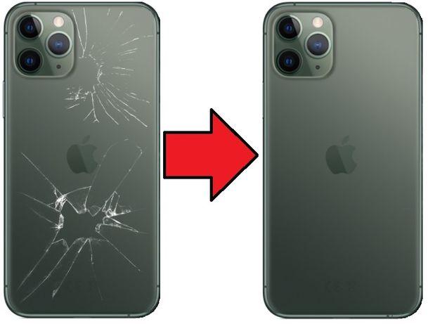 Tylna klapka plecki iPhone 11 PRO/11 PRO MAX z wymianą 400 Żelazna 89