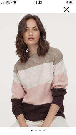 Sweter damski hm rozm M