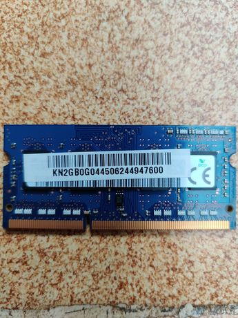 Ram para portátil 2GB DDR3