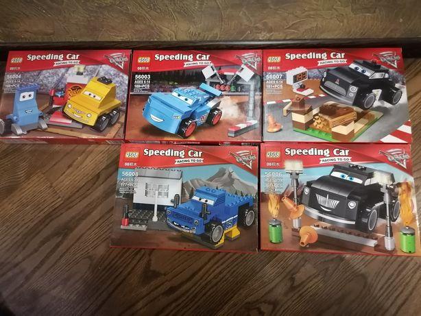 172дет.Новый набор игра конструктор лего тачки маквин lego McQueen