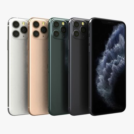 Смартфон Apple iPhone 11 Pro Max Silver/Green/Gold/SpaceГАРАНТІЯ·КРЕДИ