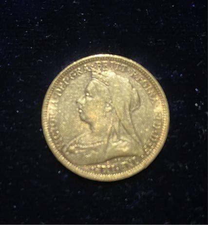 Libra em Ouro, ano 1894