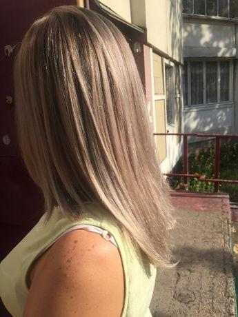 Биозавивка, покраска волос, кератиновое выравнивание и восстановление