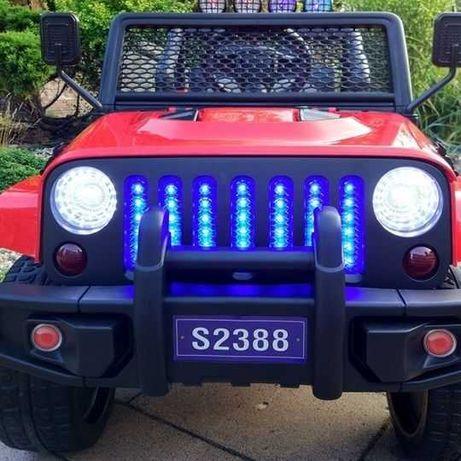 Auto na Akumulator S2388 Jeep do 40 kg 4x4