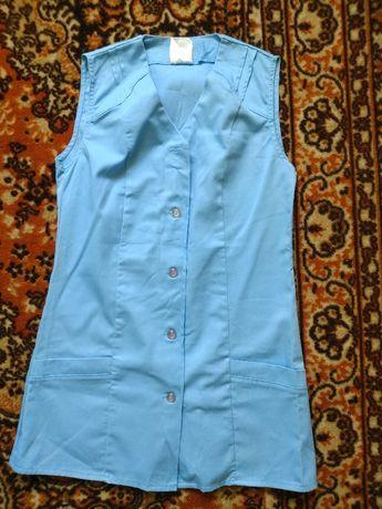 fartuch niebieski S 36