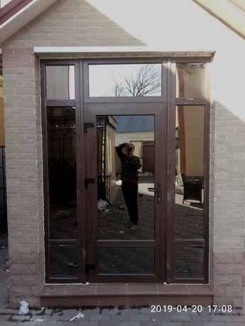 Окна, Двери металопластиковые изделия (конструкции) под заказ.