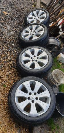 "Koła felgi Opel 17"" 215/50r17 opony letnie 19rok"