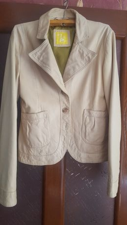 Пиджак кожаный 48 размер