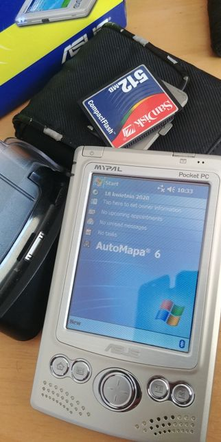 PDA Asus 620BT pocket pc irda bluetooth