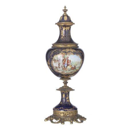 Urna Francesa Porcelana