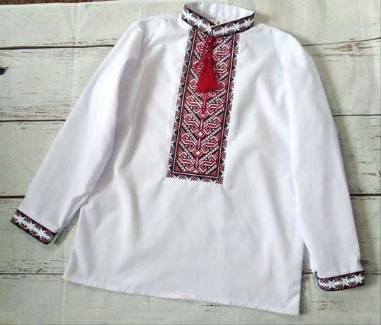 Вышитая рубашка, вышиванка для мальчика