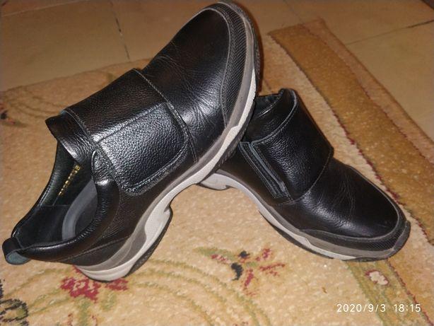 Туфли подростковые кожаные, 39 р. MIDA.