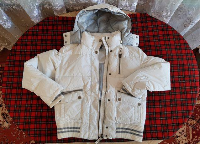 Курточка зимняя белая