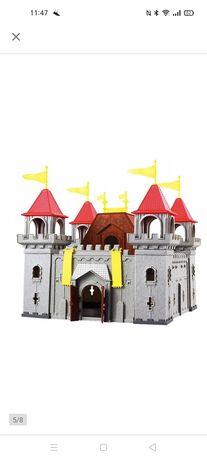 Zamek rycerski plastikowy