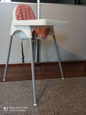 Krzesło krzesełko do karmienia ikea