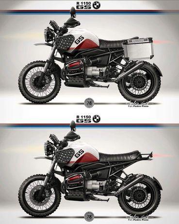 BMW r1150 GS única