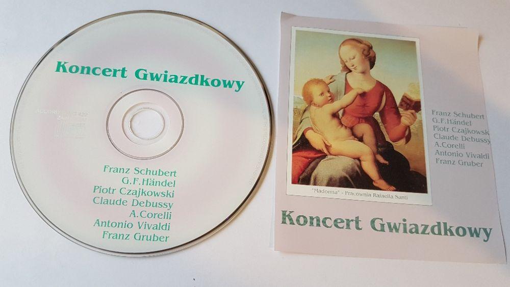 Koncert Gwiazdkowy CD -Schubert, Haendel, Czajkowski, Vivaldi, Debussy Łódź - image 1