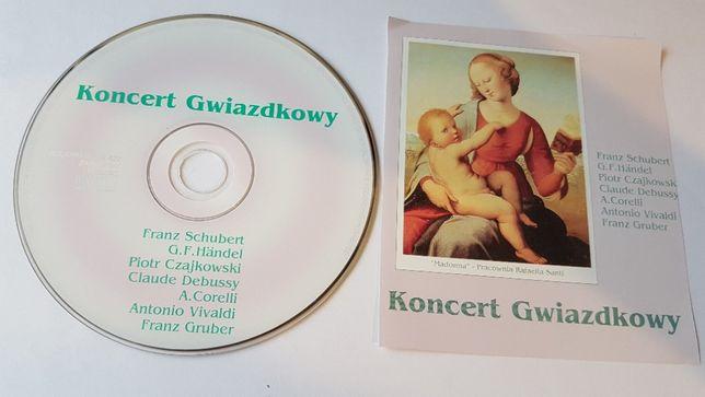 Koncert Gwiazdkowy CD -Schubert, Haendel, Czajkowski, Vivaldi, Debussy