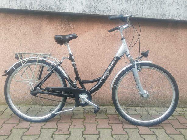 Sprzedam rower miejski kola 28 cali dynamo w piascie