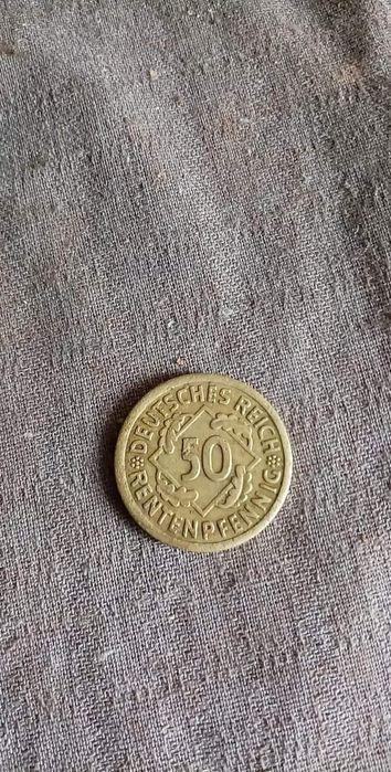Moneta 50 Rentelpfennig 1924 Domaszków - image 1