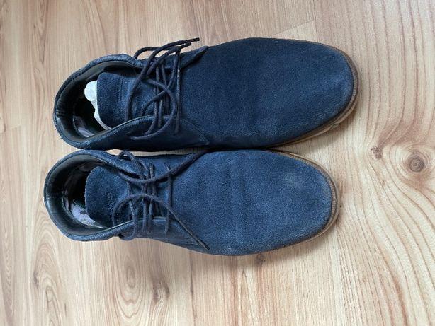zamszowe buty Royal Republiq Testa midcut