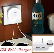 Carregador USB duplo / Luz Nocturna com sensor de luminosidade