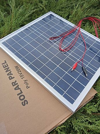 Panel Solarny Bateria Słoneczna 20W 12V REGULATOR