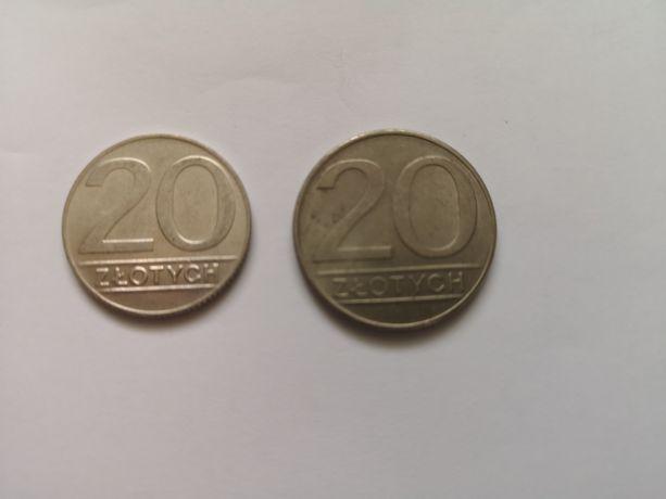 Monety 20zł.