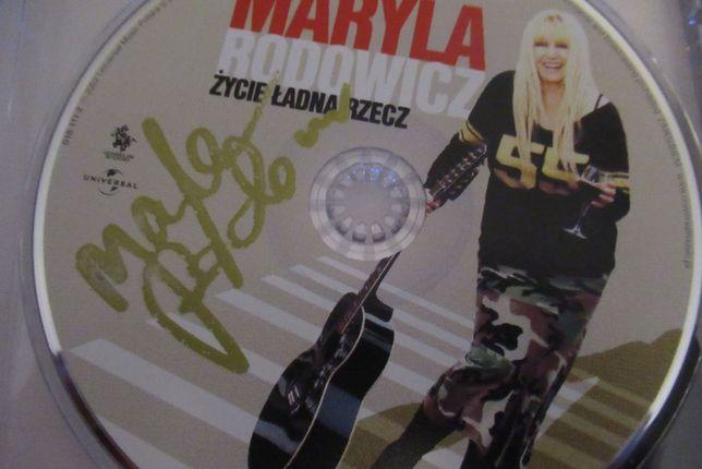 Maryla Rodowicz - Życie ładna rzecz - (z autografem)