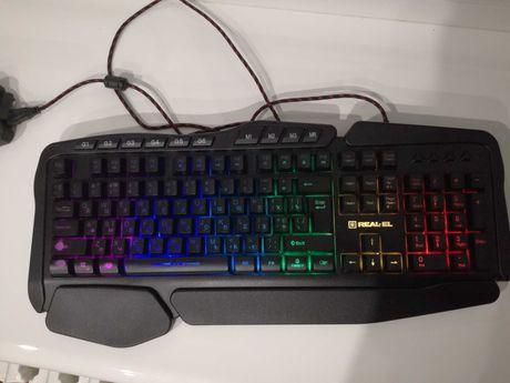 Клавиатура Real-el gaming 8900 rgb