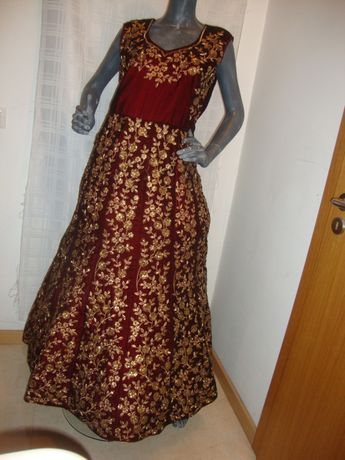 Vestido gala - -Novo