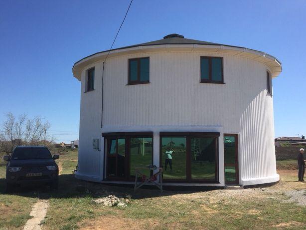 Круглый Дом на море Евпатория Заозерное