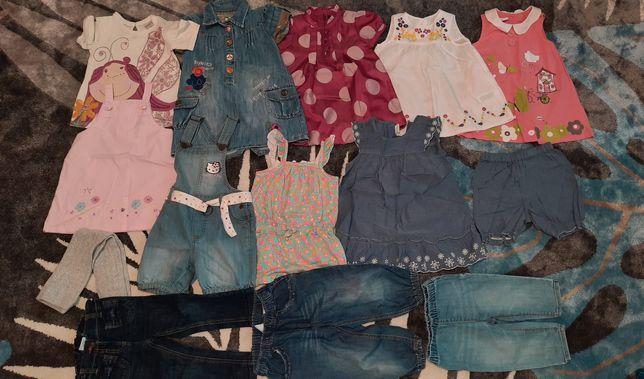Ubranka dla dziewczynki 80-86 lato/jesień GAP,Next, H&M