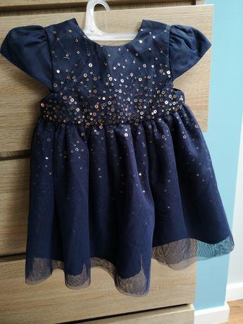 Sukienka niemowlęca rozmiar 74