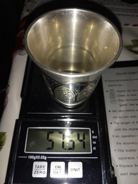 Серебряная Рюмка 875пробы Почаев - изображение 1