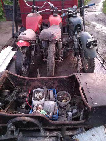 Мотоциклы МТ  и куча запчастей