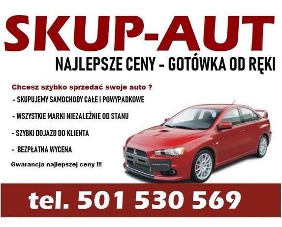 Skup aut - samochodów  ZA GOTÓWKĘ - Gwarancja najlepszej CENY !!!